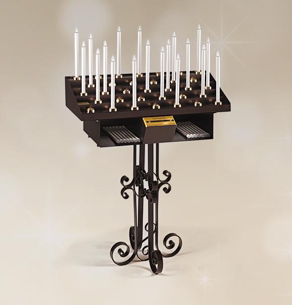 Candeliere artistico 33 accensioni per chiesa votivo for Arredi sacri milano