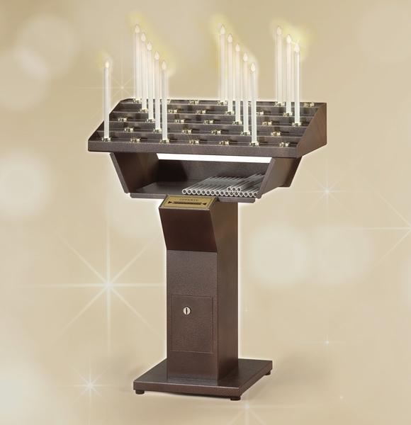 Votivo Arredi Sacri: Candeliere elettrico gestuale per Chiesa