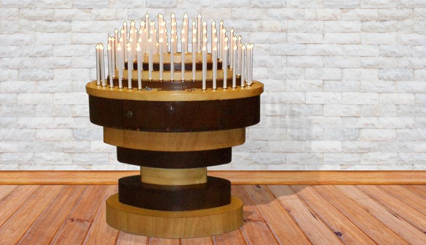 18 - Votivo Arredi Sacri: Candeliere elettronico per Chiese