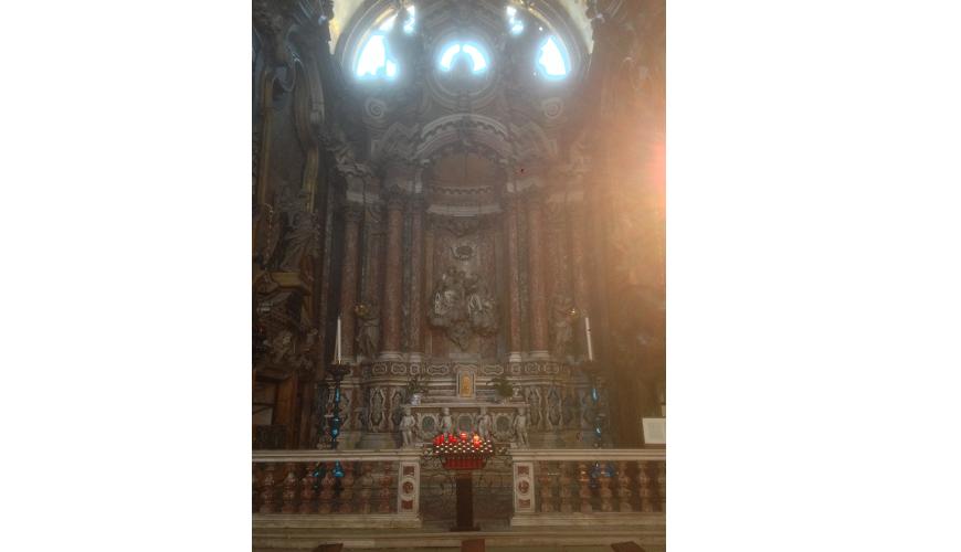 2 - Venezia Chiesa di S. Maria di Nazareth (degli Scalzi)