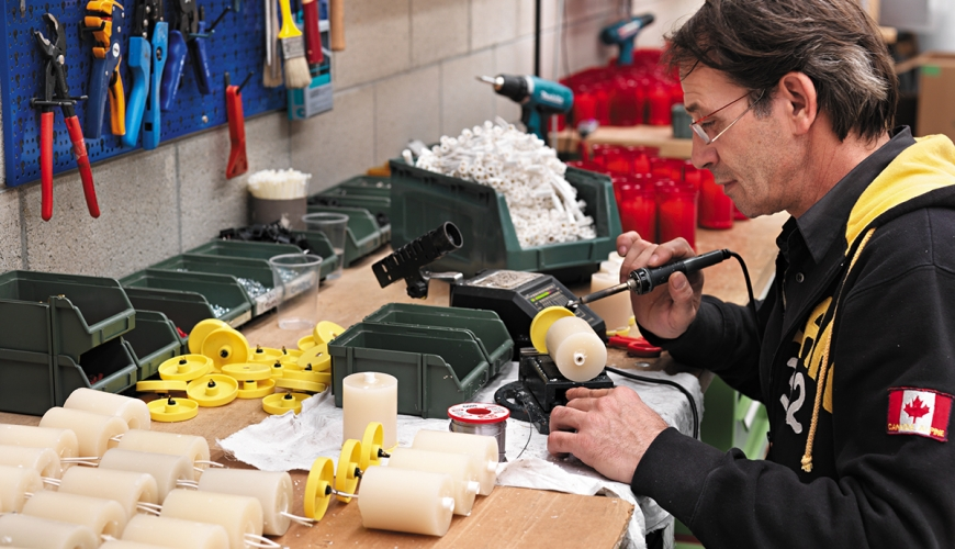 Votivo Sacred Furnishings: Many years of production experience